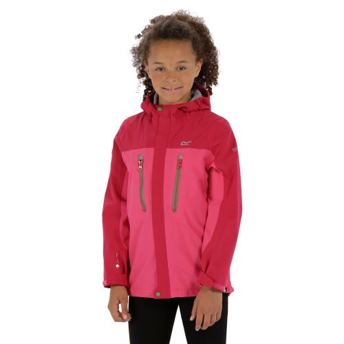 Regatta HIPOINT STRETCH III WATERPROOF JACKET - Hot Pink / Vivacious